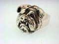 Pirate Bulldog Ring - Large
